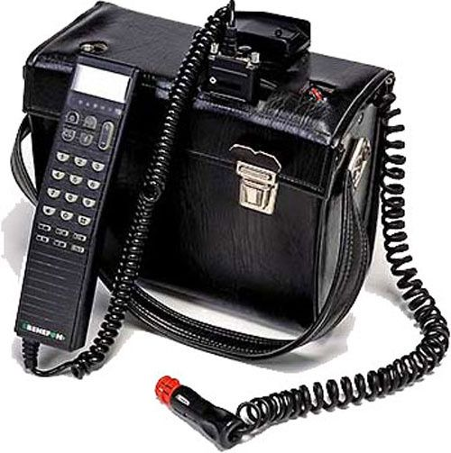self contained hand portable radio telephone from the 80 90s yes folks this was the first. Black Bedroom Furniture Sets. Home Design Ideas