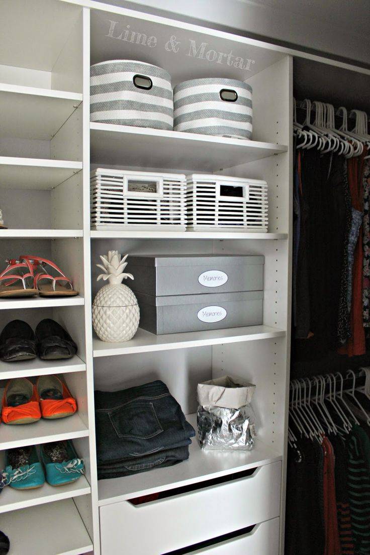Lime & Mortar: Inside My Walk In Wardrobe