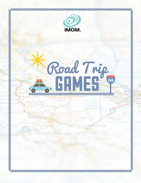 Road Trip Games for Summer. Kids activities for car trips. Adorable free printables!