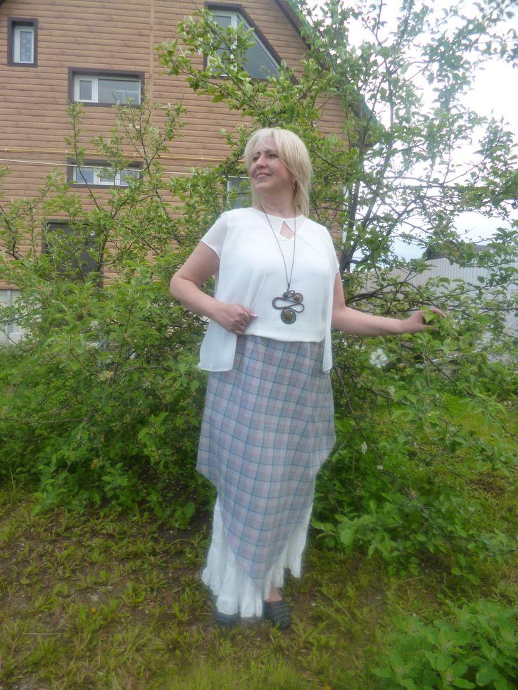 Бохо комплект(юбка,кофточка)