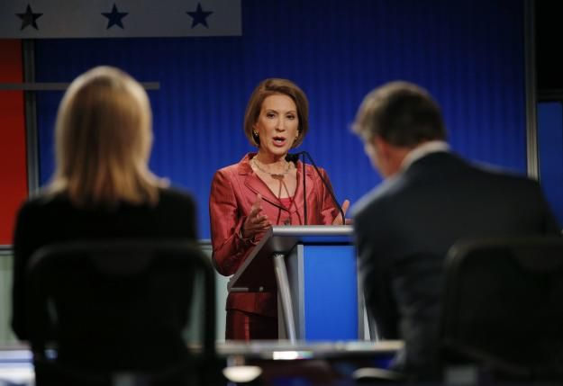 Republican presidential candidate Carly Fiorina wins the Web | Reuters