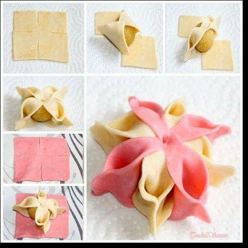 Pastry folding technique