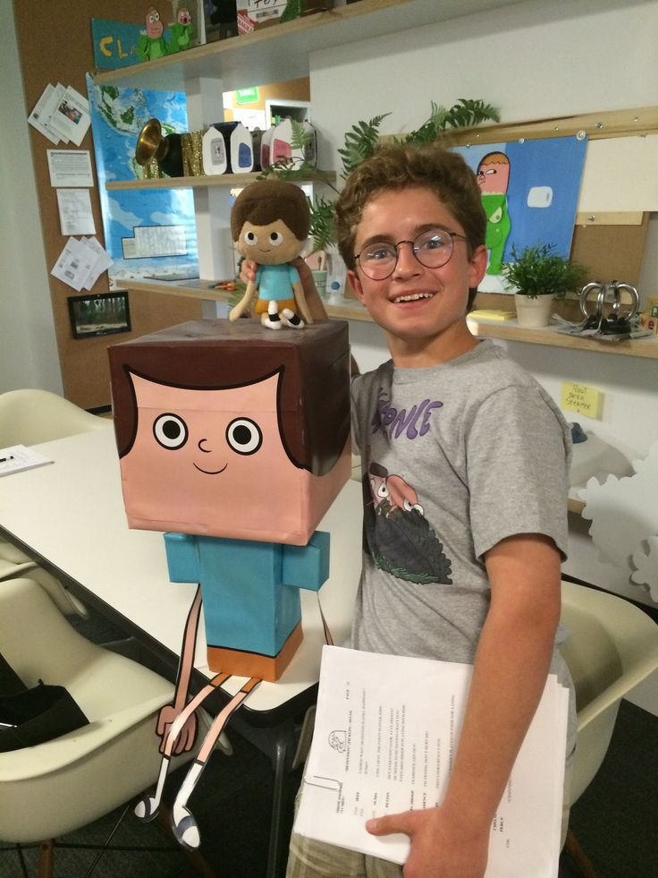 Sean with Jeff at Cartoon Network