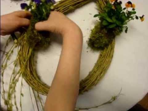 Osterdekoration selber machen  Floristik Anleitung