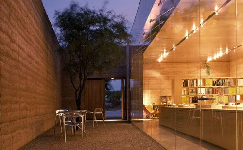 Modest yet Beautiful Minimalist Desert House Design | DigsDigs