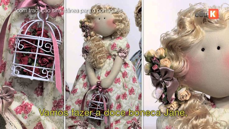 Curso online de Bonecas românticas de Millyta | eduK.com.br