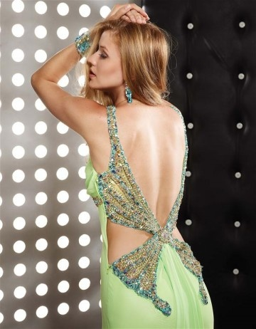 Love the back! No green... Black or midnight blue!