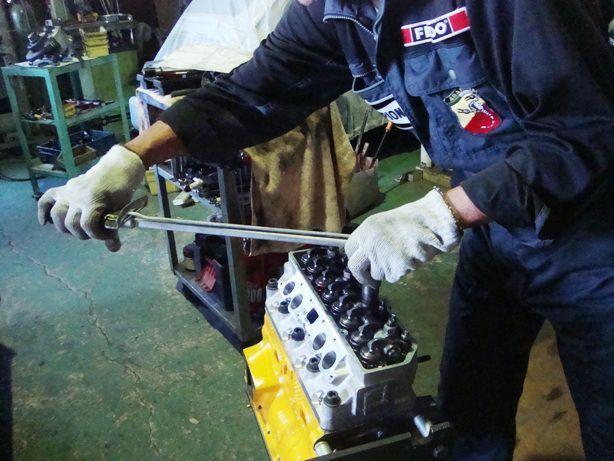 アウトビアンキ エンジンの組立て 2 autobianchi a112 レストア