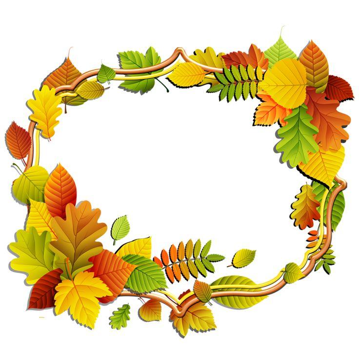 Рамки для текста осень
