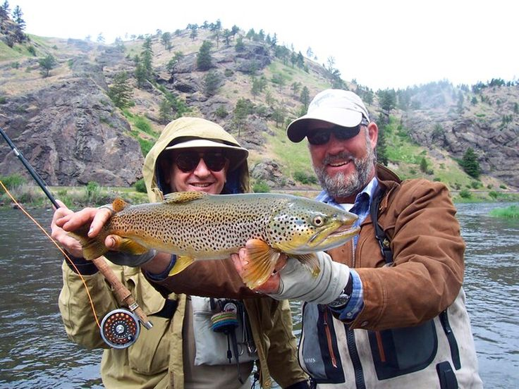 """""""...Catching fish is one thing but what's equally important to Pete is that his clients leave the Missouri more experienced and more technically proficient in the skills of fly fishing. A day of angling instruction from this expert will change your ideas and attitudes and enhance your knowledge of more than just the river. The lessons learned in a day with Pete are applicable worldwide wherever trout swim as many of Pete's long-term clients will attest."""" See more..."""