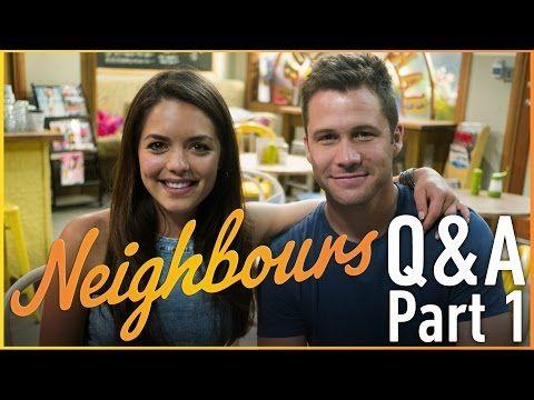 Scott McGregor (Mark) & Olympia Valance (Paige) - Neighbours Q&A Part 1 - http://maxblog.com/1452/scott-mcgregor-mark-olympia-valance-paige-neighbours-qa-part-1/