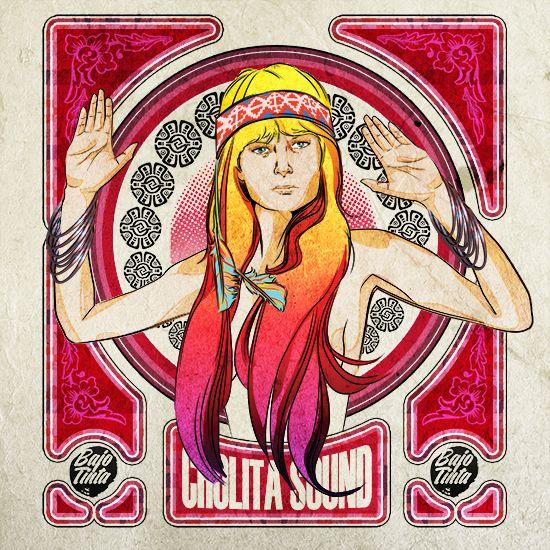Edición Retrato Cholita Sound on Behance