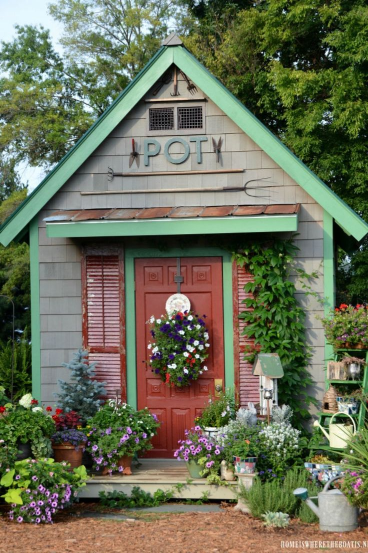 Amazing Shed Plans 14 Whimsical Garden
