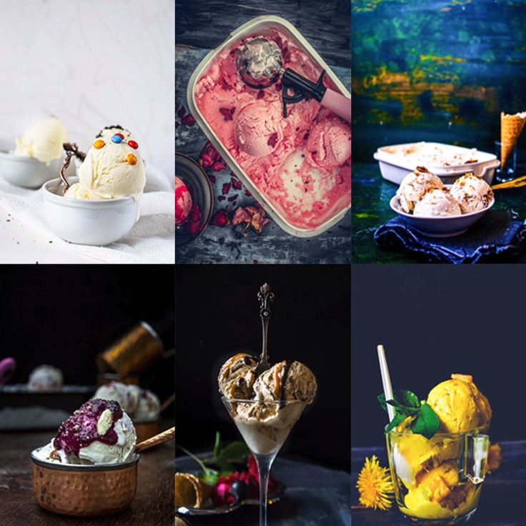 6 recetas de helado rápidas y fáciles sin batir    – My Ginger Garlic Kitchen's Video Recipes