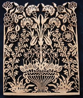 Naht Sanatı: İznik Çini Motifi (gürgen ağacı)