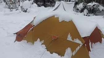 HD Blizzard Snowstorm Winter Survival Course Croatia Overnighter - YouTube
