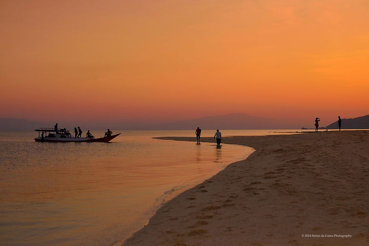 Sunset on Pangabatang Beach