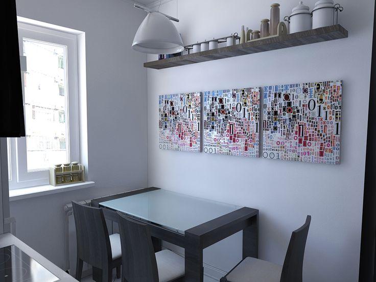 Столовая зона на кухне