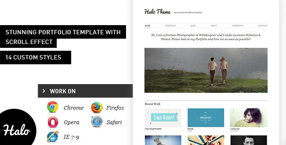 Halo: Stunning HTML Portfolio Template Theme. Live Preview & Download: http://themeforest.net/item/halo-stunning-html-portfolio-theme/302260?ref=yinkira