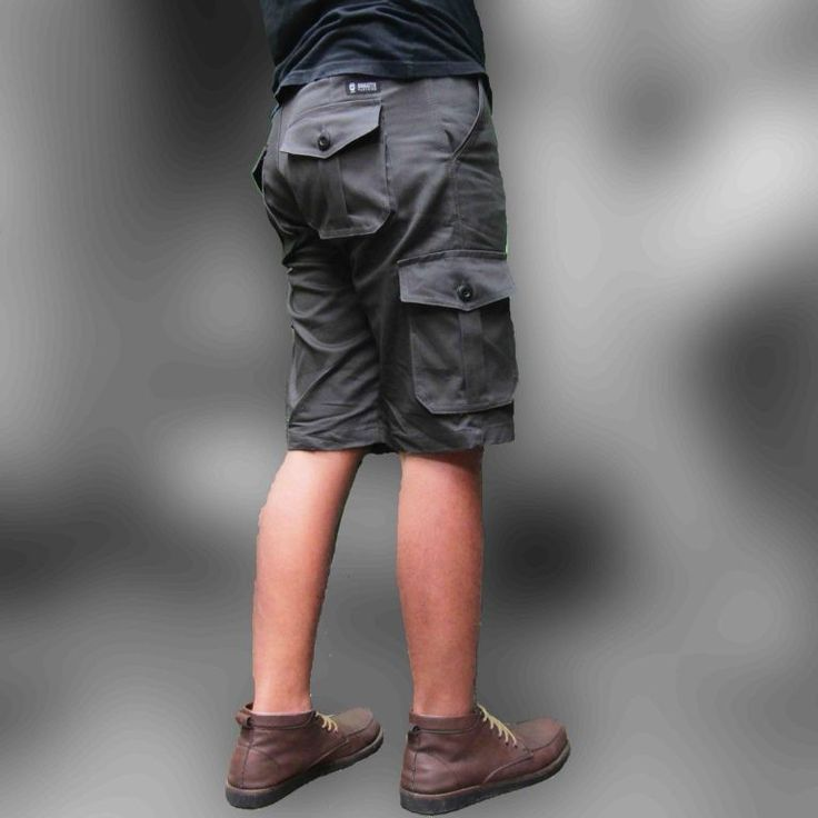 Cargo Short Pants Gray
