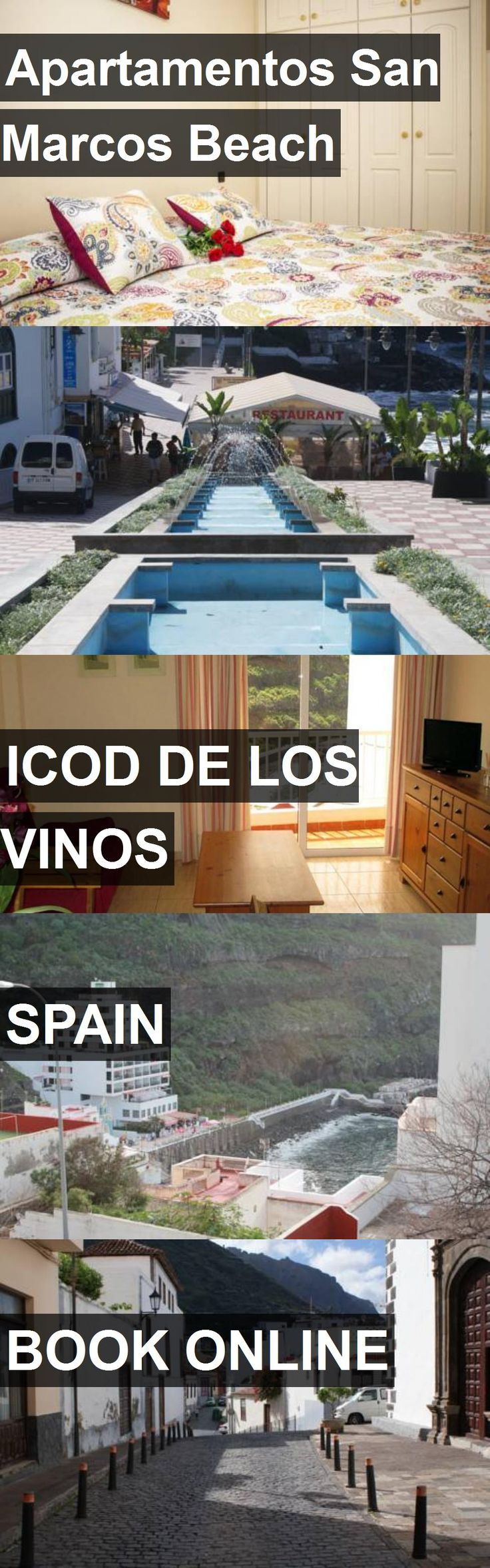 Hotel Apartamentos San Marcos Beach in Icod De Los Vinos, Spain. For more information, photos, reviews and best prices please follow the link. #Spain #IcodDeLosVinos #travel #vacation #hotel