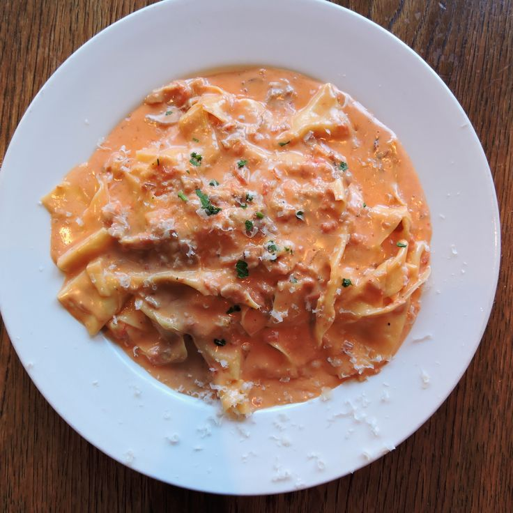 Pappardelle alla fiesolana at Bar Pitti (West Village)
