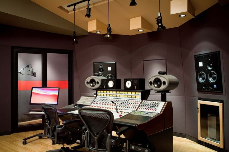 Sherpa Studio is designed to fit into an existing structure. The control room and studio take up the higher ceiling parts of the building.