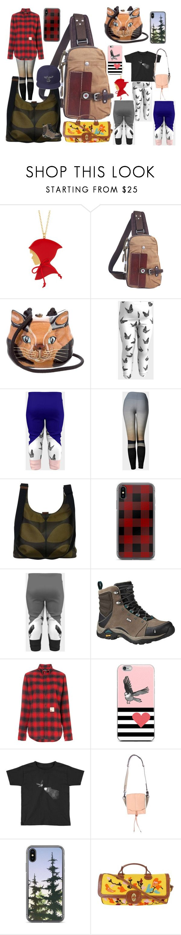 """""""I need some woods time"""" by adanacmom ❤ liked on Polyvore featuring Les Néréides, TSD, Timmy Woods, Orla Kiely, Ahnu, Dsquared2, rag & bone, Missoni, travel and phonecase"""