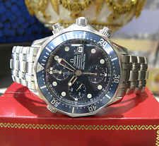 Mens OMEGA Seamaster Professional Chronometer Stainless Steel Chronograph Watch