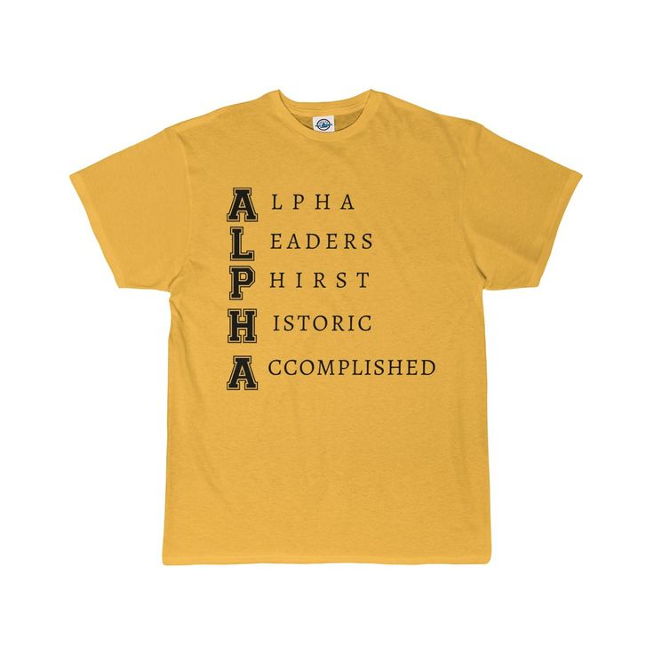 Alpha Phi Alpha Fraternity | Leaders Men's T-Shirt II