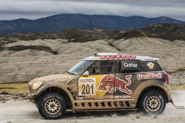 MINI ALL4 Racing #201 - Qatar Rally Team