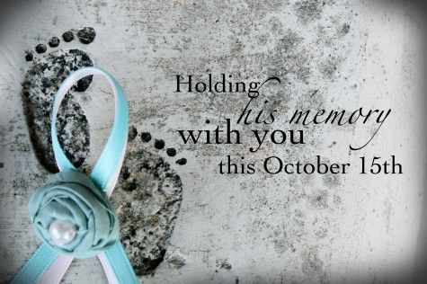 Lost For Words Card Line // October 15th Pregnancy & Infant Loss Awareness