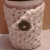 Button Coffee Mug Wrap