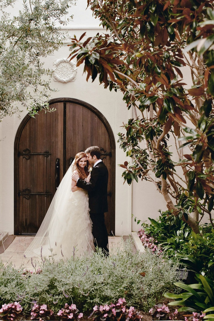 John & Joseph Photography Inc. | Bride and Groom | Wedding Photos | Wedding Kiss | Outdoor Wedding | See more at loveluxelife.com #loveluxelife