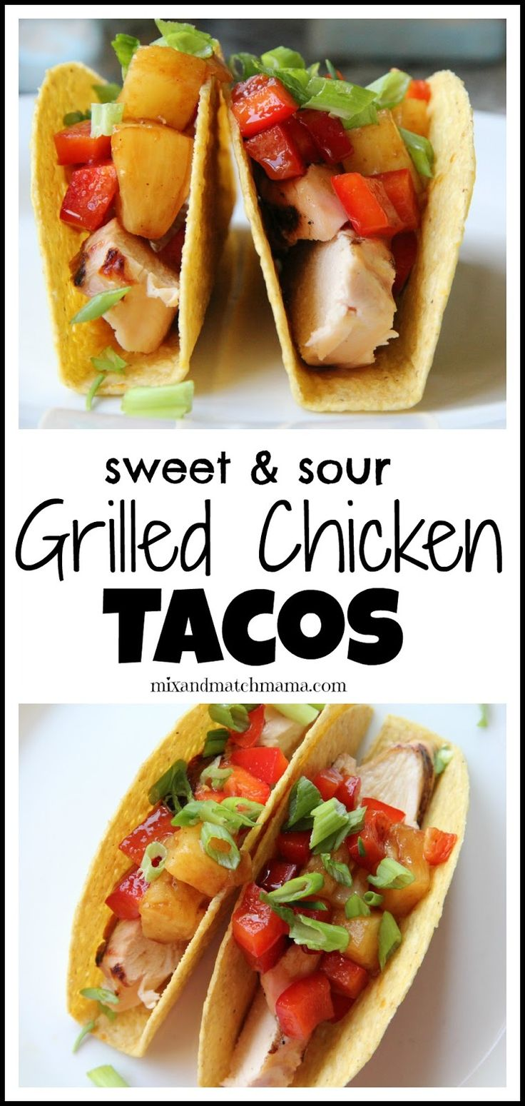 Basic Chicken Tacos Recipe — Dishmaps