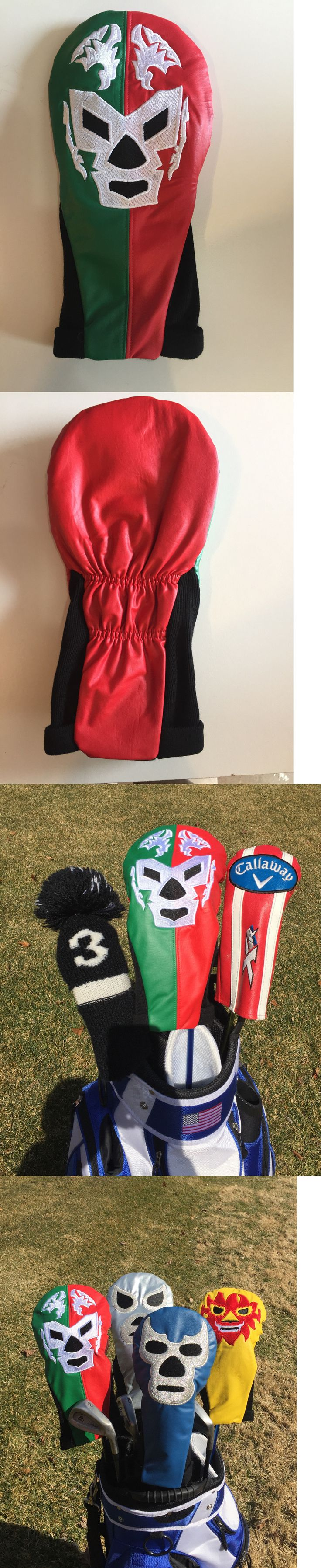 Club Head Covers 18930: Driver Headcover Mexican Wrestler Mask Taylormade Callaway Ping Cobra Titleist -> BUY IT NOW ONLY: $37.0 on eBay!