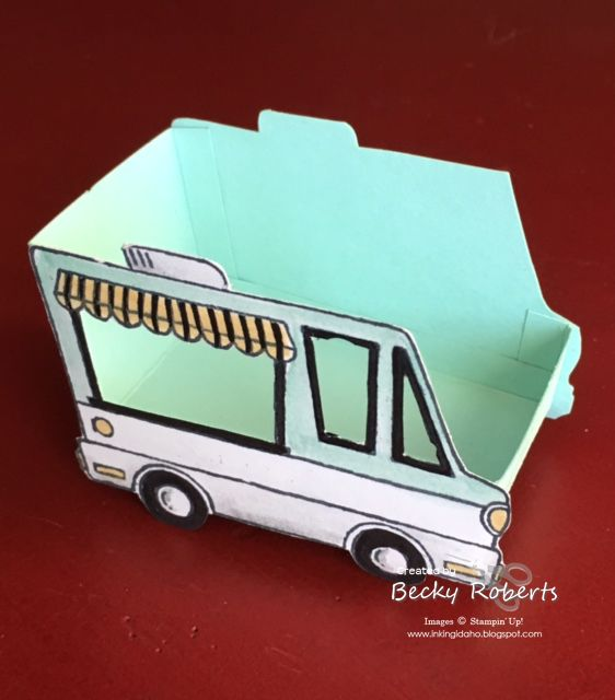 Tasty Trucks is a stamp set all about the food truck craze. It can become a hot dog truck, a taco truck, an ice cream truck, it has a cu...