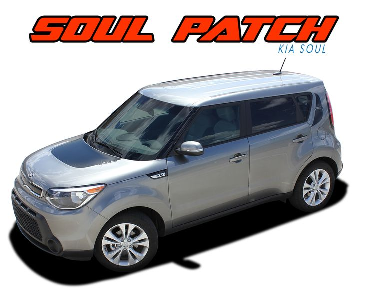 Pro Series Vinyl Stripes for the 2010 2011 2012 2013 Kia Soul - Model Specific Car & Truck Vinyl Graphics Racing Stripes Rally Hood Decals | 3M 1080 & Avery Supreme Wrap Air Release Cast Vinyl | Factory OEM Quality Fit & Style