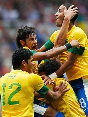 Brasil World Cup 2014  Brasil 3 x 1 Croácia