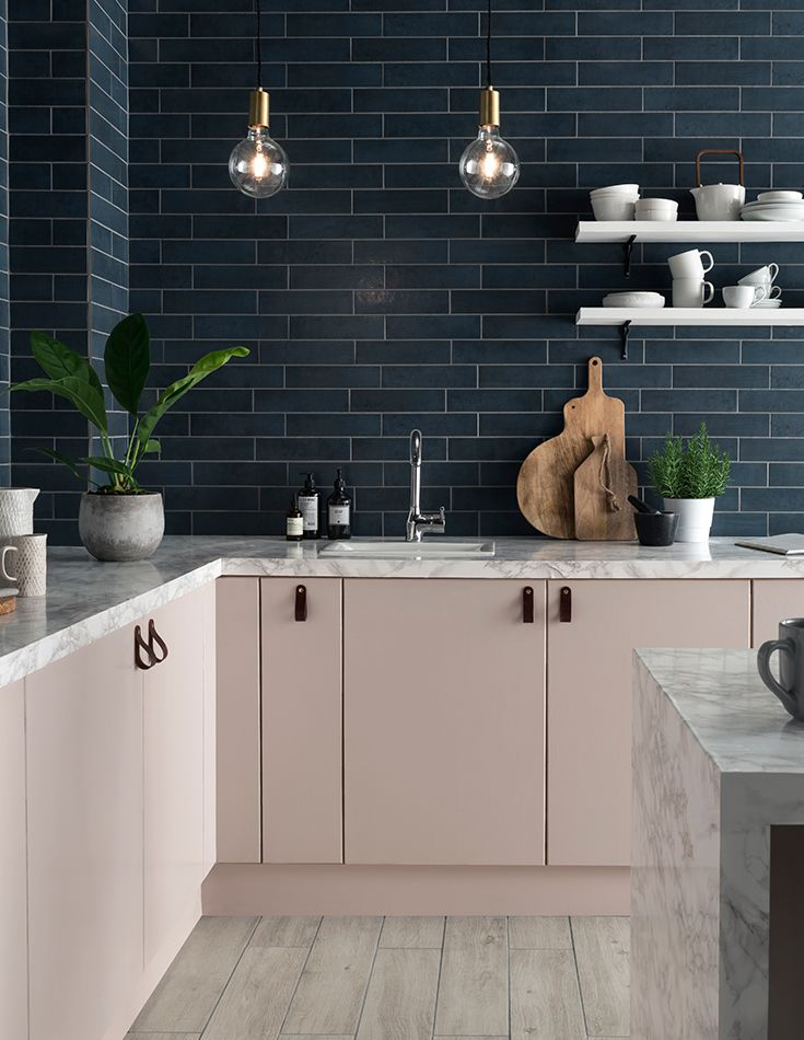 Add a splash of colour to your walls with the elegant, streamlined features of Anya™. With the Dulux colour of the year for 2017 named as Denim Drift, the introduction of Anya brings cool blue-grey tones into the Topps Tiles colour palette, making it the on-trend choice for kitchen and bathroom walls this year.