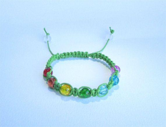 Green Healing Chakra Bracelet from Ireland by DelabudCreations