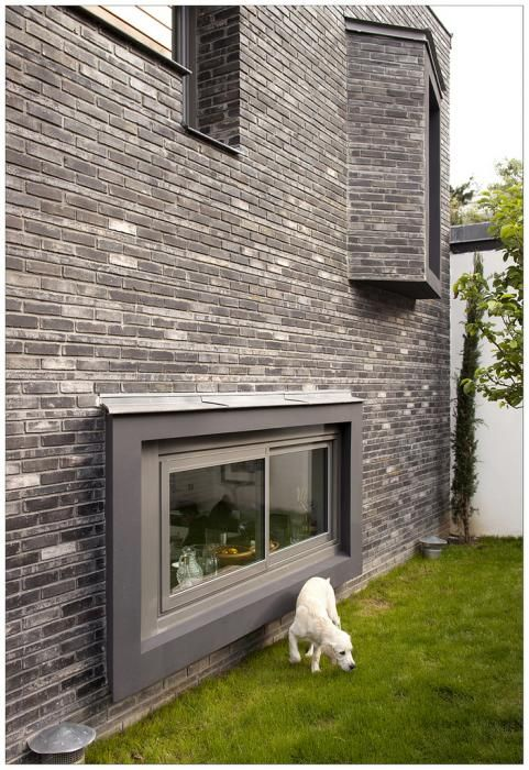 Maison de ville à Montrouge par Alexandre Dreyssé / #house #maison #brick #brique #window #architecture