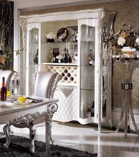 Silver Dining Room In Italian StyleTop And Best Italian Classic Furniture