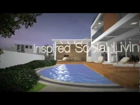 Gestural 3D walkthrough of Exotic Villas