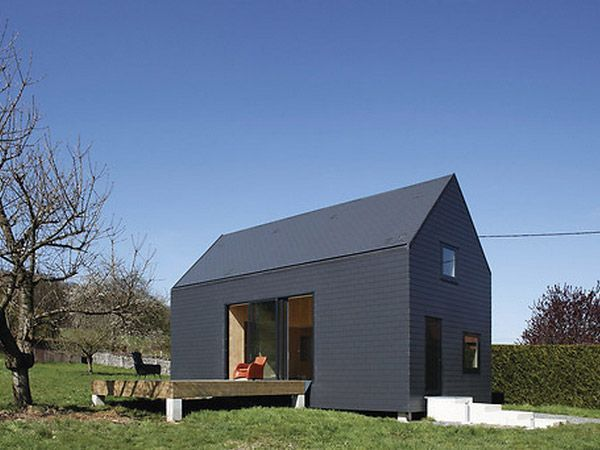 830 best MAISONS CONTEMPORAINES ECOO images on Pinterest Bretagne - maison toit en verre