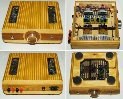 TDA2030 DIY HiFi Amplifier - DIY Audio Projects Photo Gallery