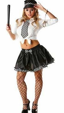 Rubies Masquerade Fancy Dress Police Lady Tutu Costume Kit - One This Fancy Dress Police Lady Tutu Costume Kit is great as a simple outfit for a fancy dress party. This costume includes a tutu. tie and hat. Includes: tutu. tie and hat. One size fits most. Sponge cl http://www.comparestoreprices.co.uk/fancy-dress-costumes/rubies-masquerade-fancy-dress-police-lady-tutu-costume-kit--one.asp