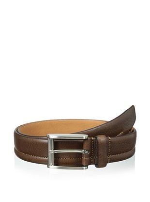 59% OFF Trafalgar Men's Stitch Detailed Belt (Brown)