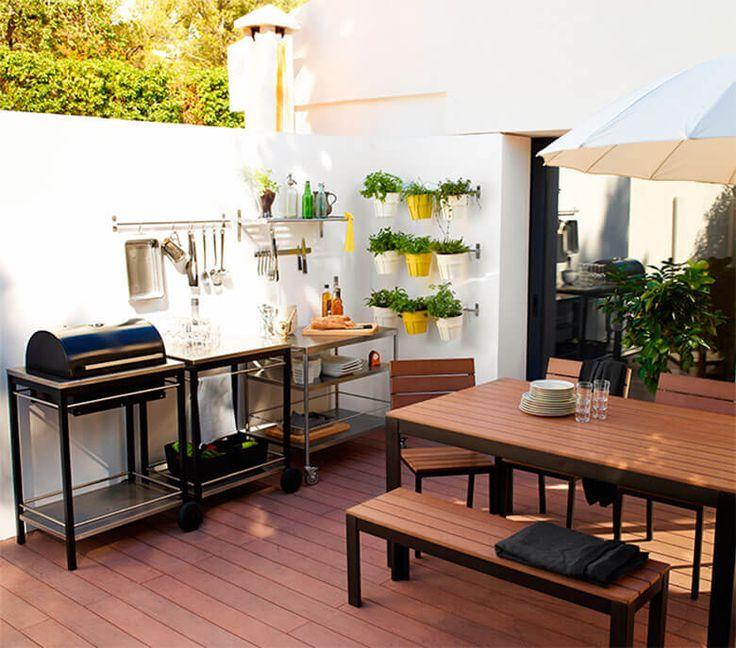 1000 images about plantas terrazas azoteas y exteriores - Decoracion terrazas ...