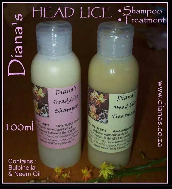 Head lice treatment & shampoo